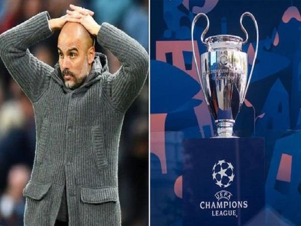 Kịch bản tồi tệ cho Man City tại Champions League