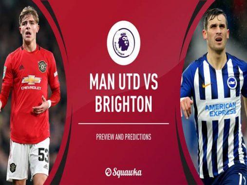 Nhận định Brighton vs Manchester Utd, 01h45 ngày 01/10