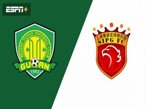 Nhận định kèo Shanghai SIPG vs Beijing Guoan, 19h00 ngày 25/9