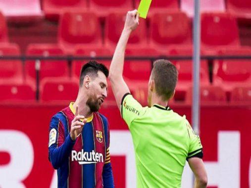 Bóng đá QT sáng 1/3: HLV Sevilla khẳng định Messi đáng bị thẻ đỏ