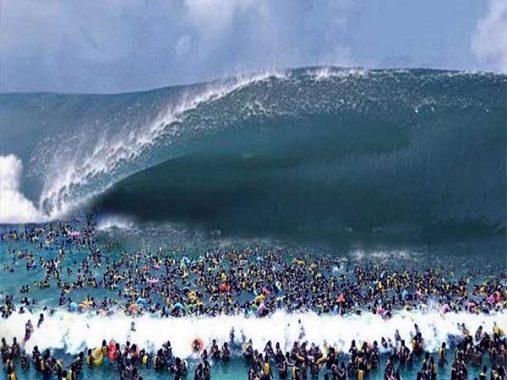 Nằm mơ thấy sóng thần có ý nghĩa gì, đánh con gì dễ trúng