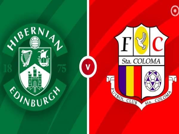 Nhận định kèo Hibernian vs Santa Coloma, 23h30 ngày 29/7