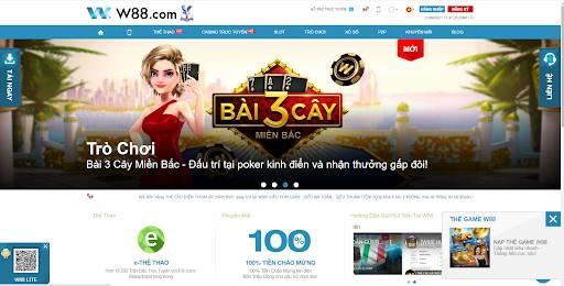 Web cược bóng đá online uy tín số 1 W88