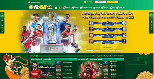 Trang web cá cược bóng đá hàng đầu FB88